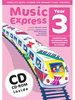 Music Express: Year 3 (Ages 7-8) Books, CD-Roms / DVD-Roms and CDs |