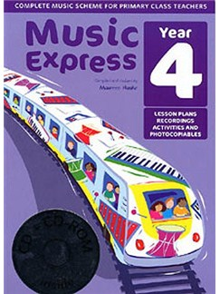 Music Express: Year 4 (Ages 8-9) Books, CD-Roms / DVD-Roms and CDs |