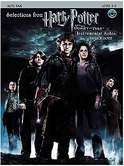 Selections From Harry Potter And The Goblet Of Fire (Alto Saxophone) Books and CDs | Alto Saxophone