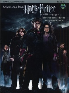 Selections From Harry Potter And The Goblet Of Fire (Piano Accompaniment) Books and CDs | Piano