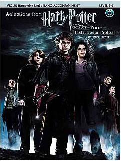 Selections From Harry Potter And The Goblet Of Fire (Violin/Piano) Books and CDs | Violin, Piano Accompaniment
