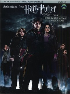 Selections From Harry Potter And The Goblet Of Fire (Viola/Piano) Books and CDs | Viola, Piano Accompaniment