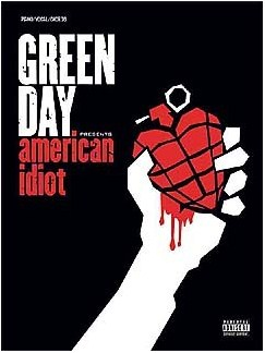 Green Day: American Idiot (PVG) Livre | Piano, Chant et Guitare (Boîtes d'Accord)
