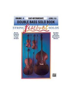 String Festival Solos Volume II (Double Bass) Books | Double Bass