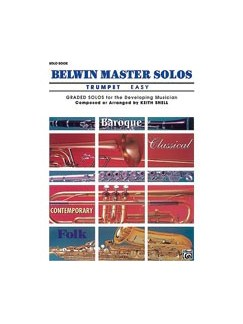 Keith Snell: Belwin Master Solos Trumpet - Volume 1 Books | Trumpet