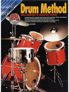 Progressive Drum Method (Book/CD) Books and CDs | Drums, Percussion