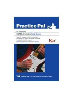 Registry Of Guitar Tutors: Practice Pal For Electric Guitar (Software For PC) - Early Grades CD-Roms / DVD-Roms | Electric Guitar