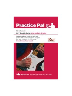 Registry Of Guitar Tutors: Practice Pal For Electric Guitar (Software For PC) - Intermediate Grades CD-Roms / DVD-Roms | Electric Guitar