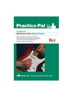 Registry Of Guitar Tutors: Practice Pal For Electric Guitar (Software For PC) - Advanced Grades CD-Roms / DVD-Roms | Electric Guitar