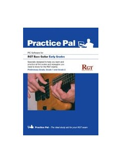 Registry Of Guitar Tutors: Practice Pal For Bass Guitar (Software For PC) – Early Grades CD-Roms / DVD-Roms | Bass Guitar