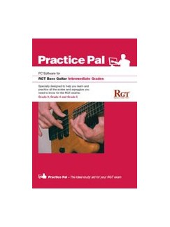 Registry Of Guitar Tutors: Practice Pal For Bass Guitar (Software For PC) – Intermediate Grades CD-Roms / DVD-Roms | Bass Guitar