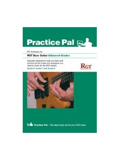 Registry Of Guitar Tutors: Practice Pal For Bass Guitar (Software For PC) – Advanced Grades CD-Roms / DVD-Roms | Bass Guitar