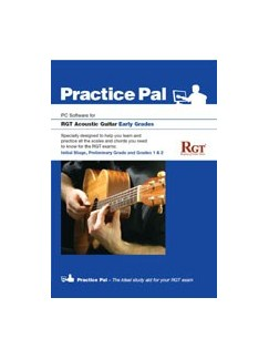 Registry Of Guitar Tutors: Practice Pal For Acoustic Guitar (Software For PC) – Early Grades CD-Roms / DVD-Roms | Acoustic Guitar