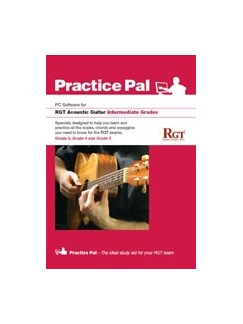 Registry Of Guitar Tutors: Practice Pal For Acoustic Guitar (Software For PC) – Intermediate Grades CD-Roms / DVD-Roms | Acoustic Guitar