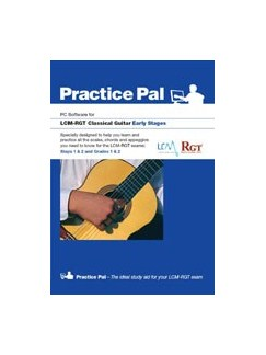 Registry Of Guitar Tutors: Practice Pal For Classical Guitar (Software For PC) – Early Grades CD-Roms / DVD-Roms | Acoustic Guitar