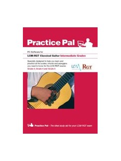 Registry Of Guitar Tutors: Practice Pal For Classical Guitar (Software For PC) – Intermediate Grades CD-Roms / DVD-Roms | Classical Guitar