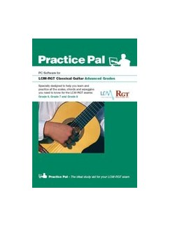 Registry Of Guitar Tutors: Practice Pal For Classical Guitar (Software For PC) – Advanced Grades CD-Roms / DVD-Roms | Classical Guitar