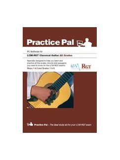 Registry Of Guitar Tutors: Practice Pal For Classical Guitar (Software For PC) – All Grades CD-Roms / DVD-Roms | Classical Guitar