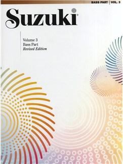 Suzuki Bass School Volume 3 - Bass Part (Revised Edition) Books | Double Bass