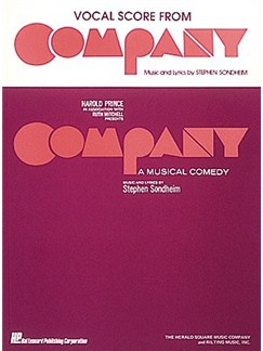 Stephen Sondheim: Company - A Musical Comedy (Vocal Score) Books | Voice, Piano Accompaniment