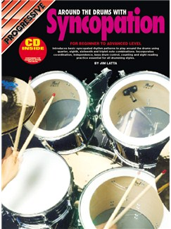 Progressive Around the Drums with Syncopation Books and CDs | Drums