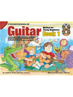 Progressive Guitar Method For Young Beginners: Book 1 Books, CDs and DVDs / Videos | Guitar
