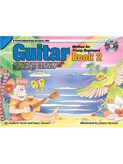 Progressive Guitar Method For Young Beginners: Book 2 Books and CDs | Guitar