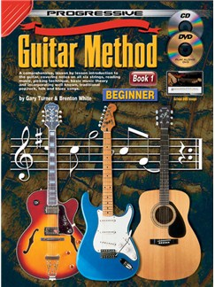 Progressive Guitar Method: Book 1 Bog og Digitale Audio | Guitar