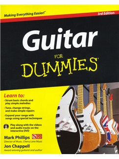 Guitar For Dummies - 3rd Edition Books and DVDs / Videos | Guitar
