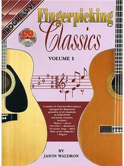 Progressive Fingerpicking Classics Volume 1 Books and CDs | Guitar Tab