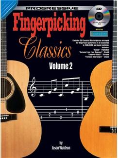 Progressive Fingerpicking Classics: Volume 2 Books and CDs | Classical Guitar