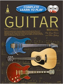 Progressive Complete Learn To Play Guitar Manual Books and CDs | Guitar