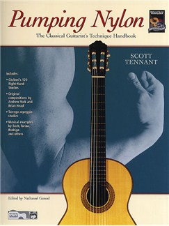 Pumping Nylon - The Classical Guitarist's Technique Handbook Books | Guitar, Classical Guitar