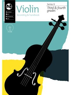 AMEB Violin Series 9 Grade 3 & Grade 4 Recording & Handbook Books and CDs | Violin