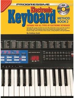 Progressive Keyboard Method 2 (Book and CD) Books and CDs   Keyboard