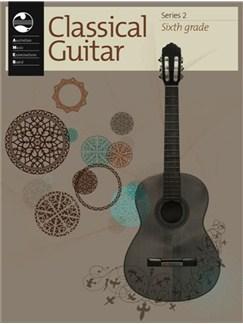 AMEB Classical Guitar Series 2 Grade 6 Books   Guitar