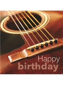 Birthday Card: Acoustic Guitar  |