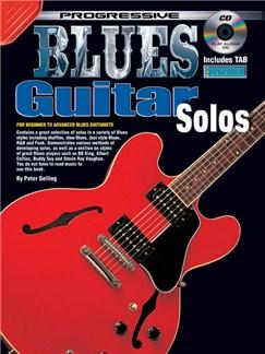 Progressive Blues Guitar Solos Books and Digital Audio | Guitar