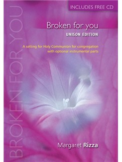 Broken For You Anglican Unison Books and CDs | Organ
