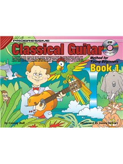 Progressive Classical Guitar Method For Young Beginners: Book 1 Books and CDs | Guitar