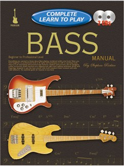 Progressive Complete Learn To Play Bass Manual Books and Digital Audio | Bass Guitar