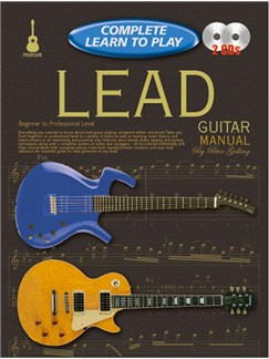 Progressive Complete Learn To Play Lead Guitar Manual Books and CDs | Guitar