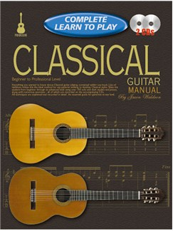 Progressive Complete Learn To Play Classical Guitar Manual Books and CDs | Guitar, Classical Guitar