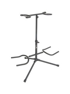 Chord: Dual Guitar Stand  | Acoustic Guitar, Bass Guitar, Electric Guitar