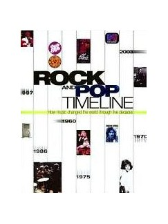 Rock And Pop Timeline - How Music Changed The World Through Five Decades (Hardback) Books  
