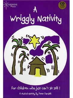 Peter Fardell: A Wriggly Nativity Books and CDs | Voice, Piano Accompaniment