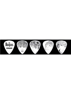Planet Waves: The Beatles Signature Pick Collection - Revolver (Medium/10 Picks)  | Guitar