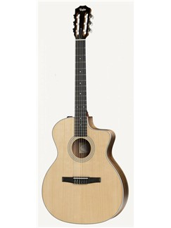 Taylor: 214CE-N Grand Auditorium Cutaway Electro-Acoustic Guitar Instruments | Electro-Acoustic Guitar