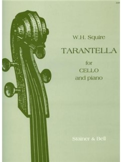 William Henry Squire: Tarentella (Cello) Books | Cello, Piano Accompaniment