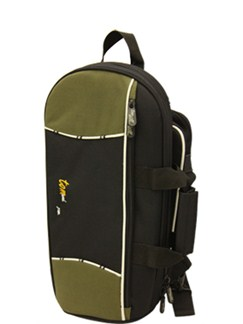Tom And Will: 22CO Cornet Gig Bag - Black And Olive  | Cornet